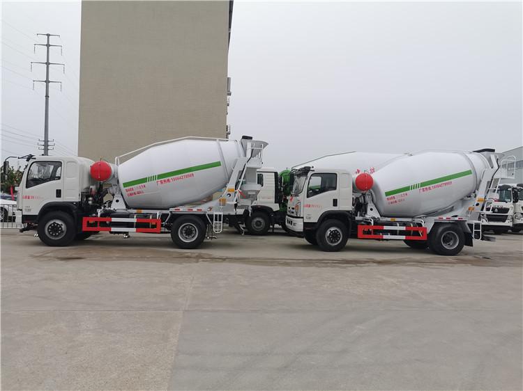 湖州市小型4方水泥罐车多少钱一台