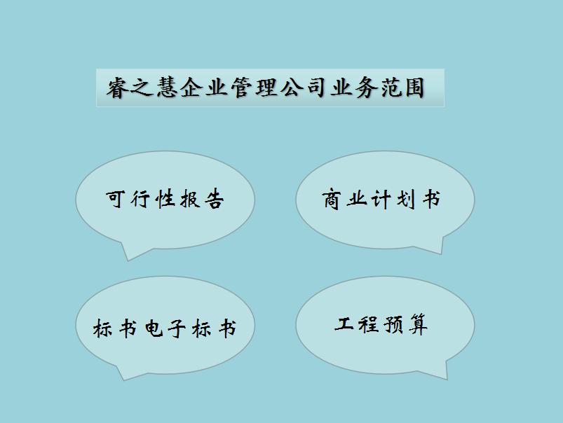 江门代写投标书、标书、项目建议书、商业计划书的公司
