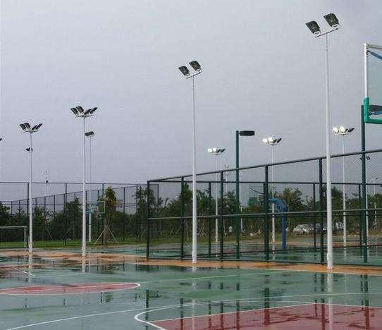 沈阳和25米30米高杆灯生产厂家升降系统灯杆价格