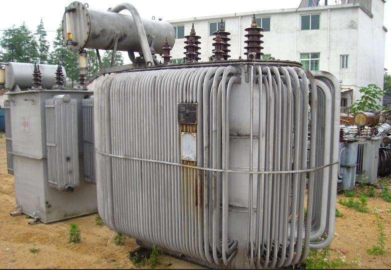 广州市旧变压器拆除二手回收【认准展华】
