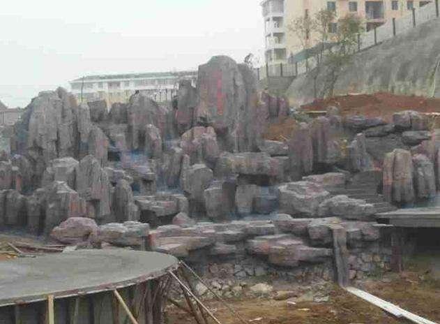 迪庆假山假树制作厂家