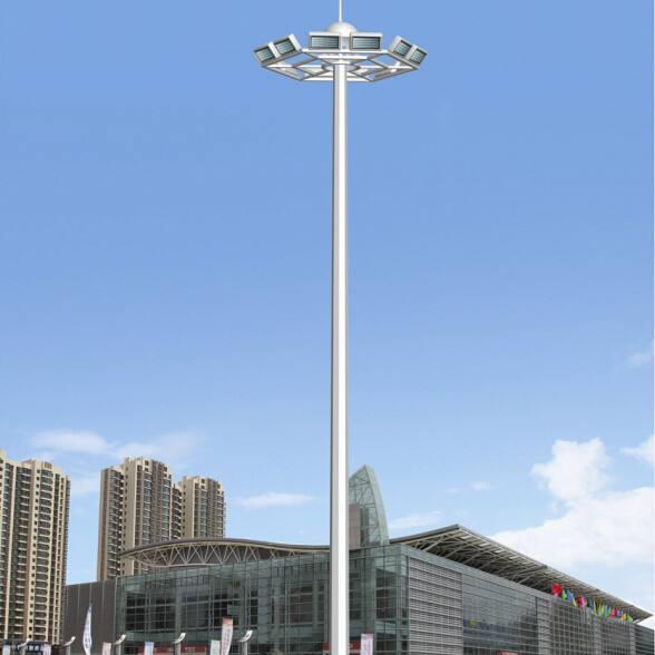 邵阳北塔20米高杆灯厂家300瓦12火多少钱一套