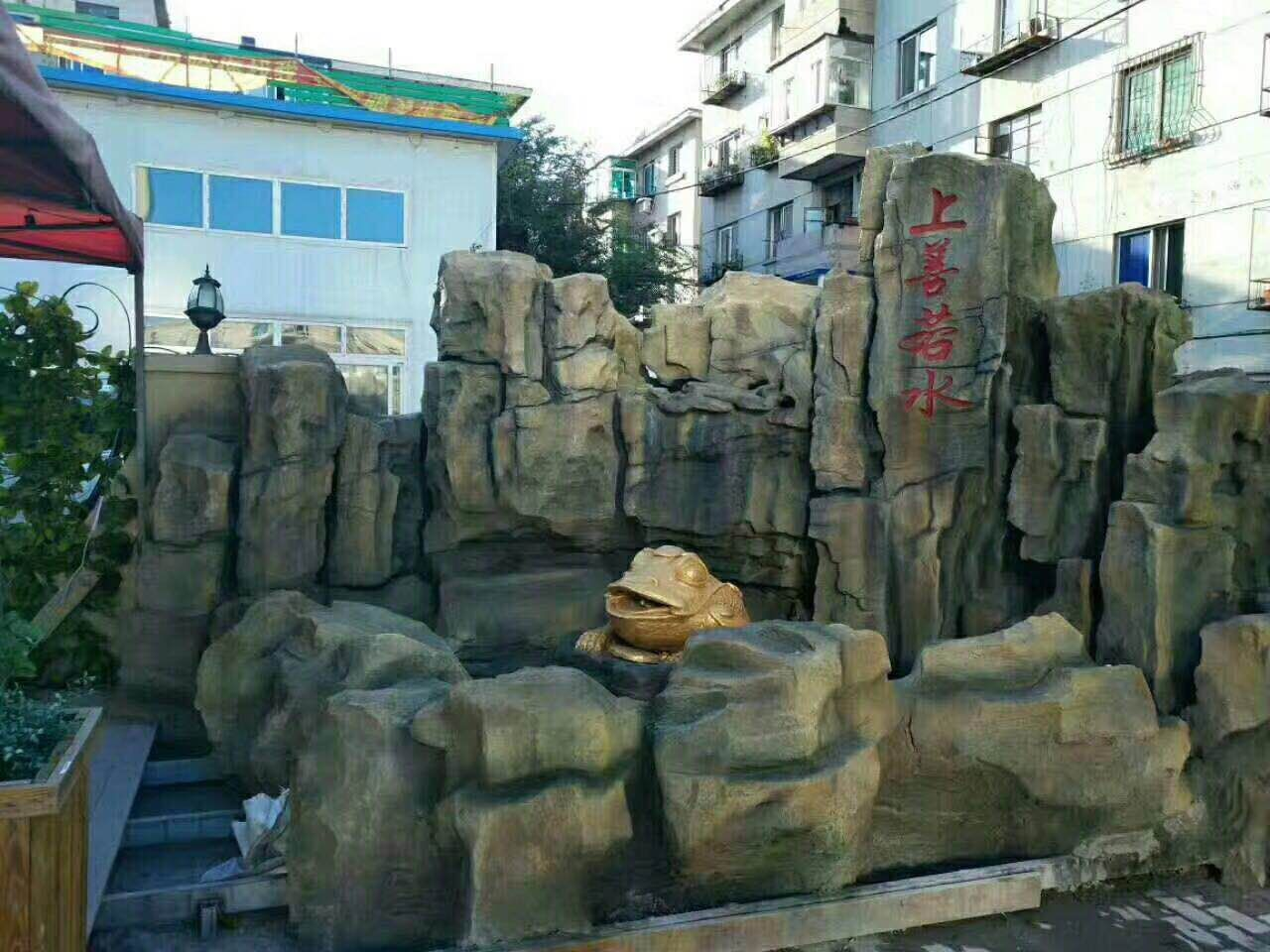 北海塑石假山专业团队