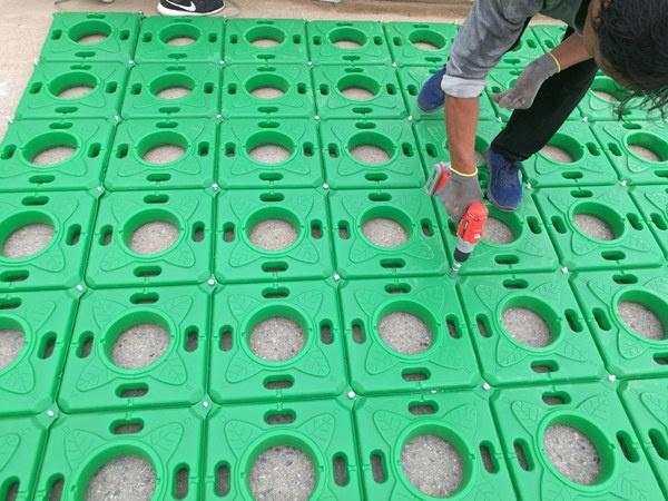 临沧绿化浮盆吸氮量