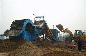 香格里拉洗砂机现货供应