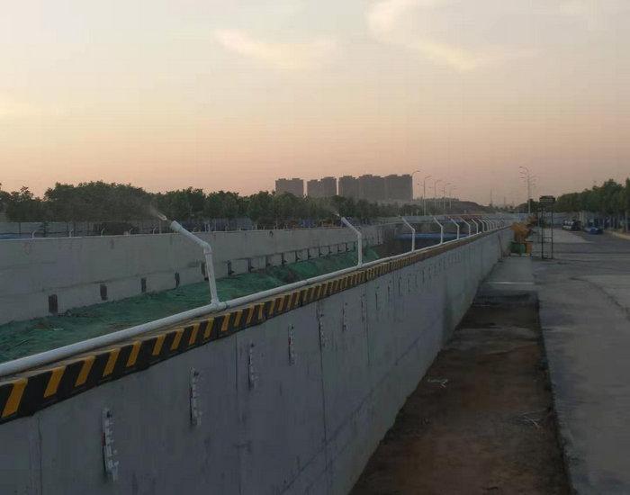鄢陵道路施工围挡雾化设备节约用电