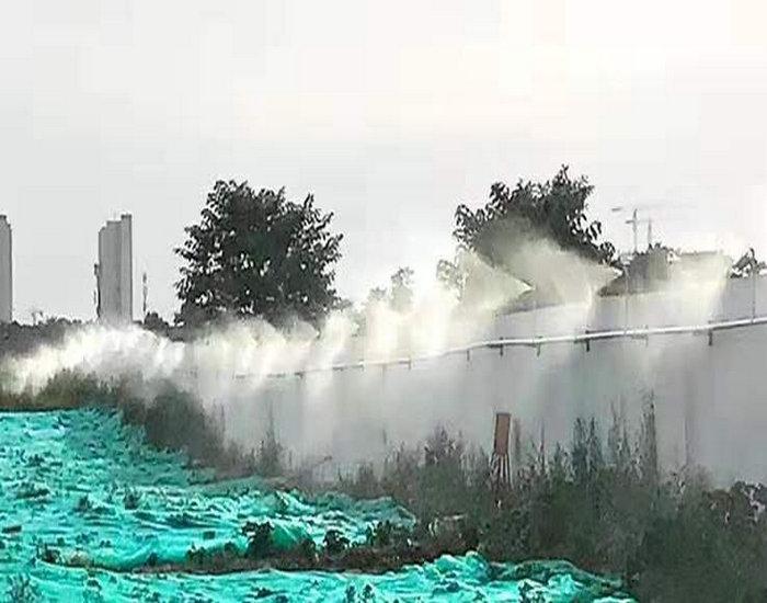 武陟施工围挡喷雾设备施工