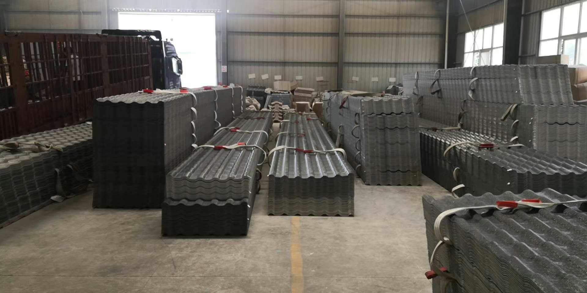 新疆博尔塔拉仿古树脂瓦厂家供应「促销价格」