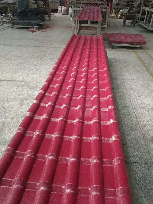 钦州聚酯防腐瓦供应-合成树脂瓦厂