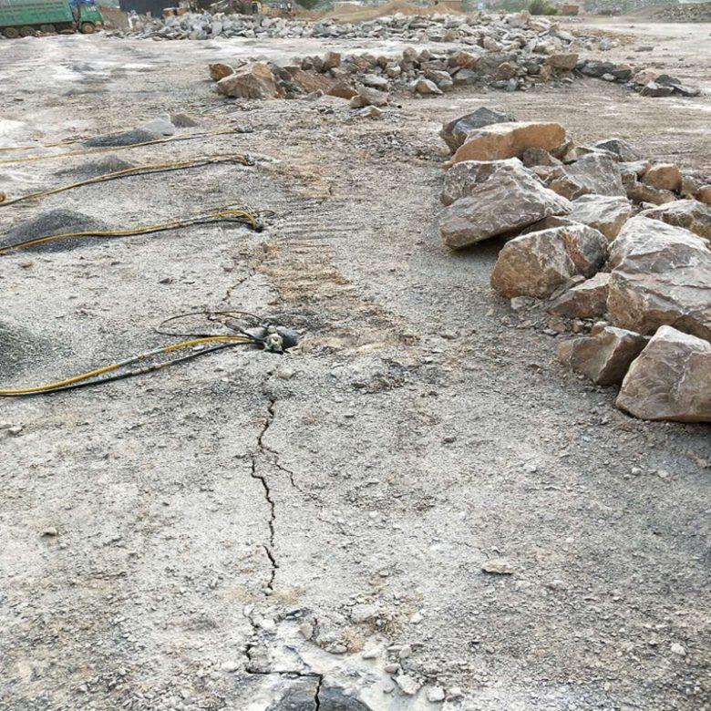 岩石开石机山城