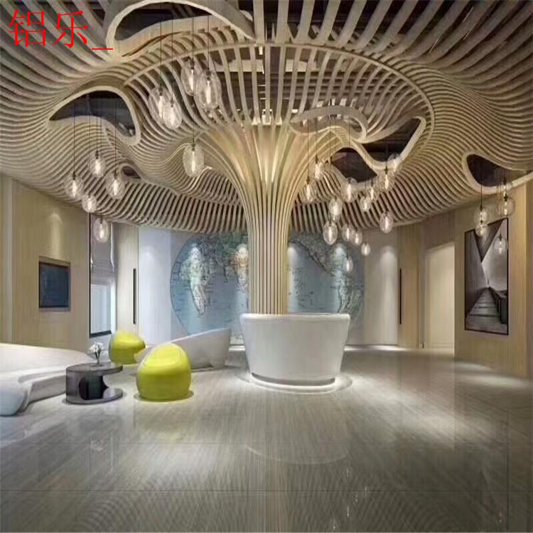 盘龙区商场铝单板包柱材料-铝乐建材
