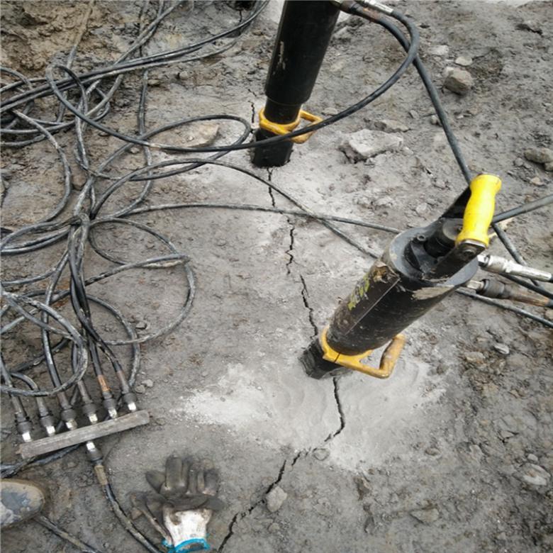 煤井下挖岩石劈石机稳定产量天津河西
