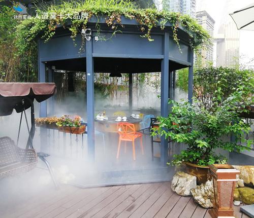 广西公共设施景观喷雾降温装置