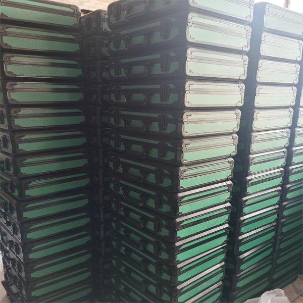 鄂州市定制IP66级铝合金设备运输防水箱定做正天铝箱批发