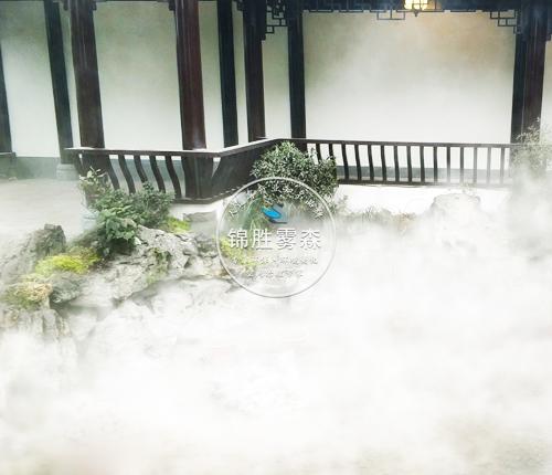 七台河新兴假山造景人工雾设备