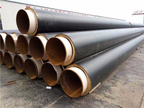 甘肃白银硬质聚氨酯直埋保温钢管多少钱一米