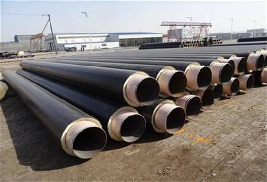 地埋式钢套钢蒸汽保温钢管一吨价格宜春丰城