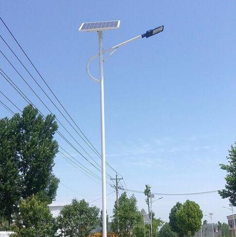 衡水LED太陽能路燈廠家,天津做燈桿的廠子