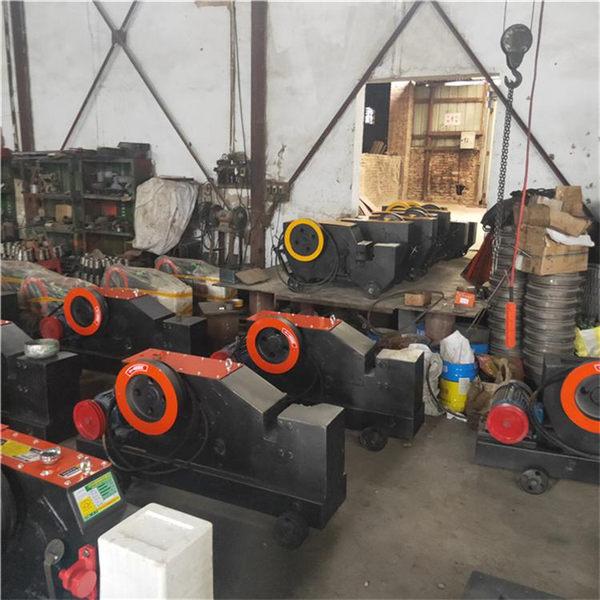 达州 50型直螺纹切断机截断机GQ50螺纹钢40加重型钢筋切断机