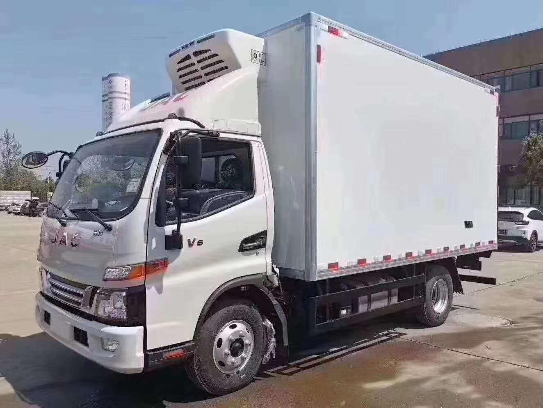 惠州市江淮骏铃V6国六冷藏车军工品质售后无忧