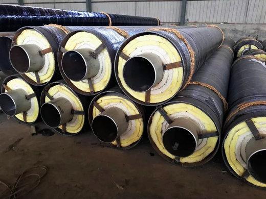 灵宝钢套钢直埋保温钢管价格钢套钢保温管道瑞盛保温口碑好