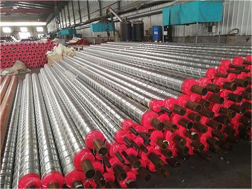 天水聚氨酯预制直埋保温钢管调价信息