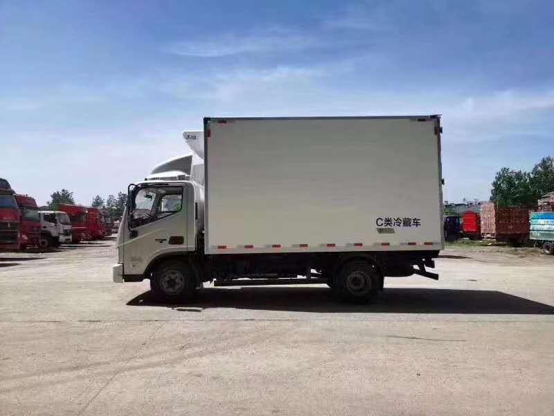 大同市国六奥铃速运4.2米冷藏车免费咨询