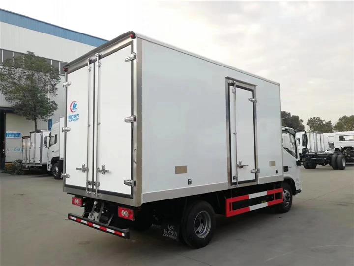 平湖江玲保温车4S店在哪分期购买冷藏车