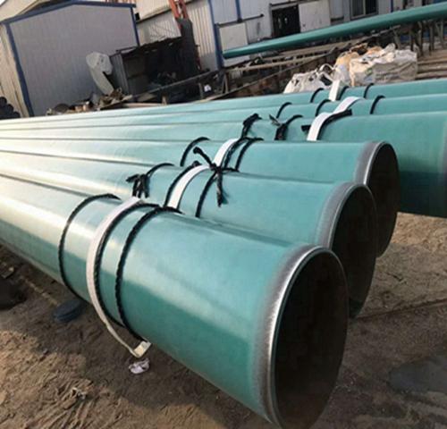 法兰连接内外涂塑复合螺旋钢管国标质量