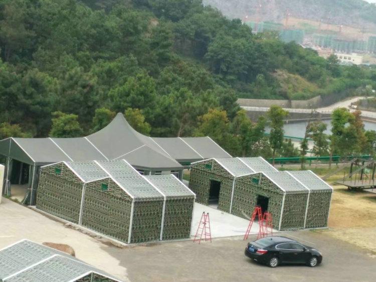 池州开业庆典蓬房组合式结构_抗风抗雪防雨_高品质保安全