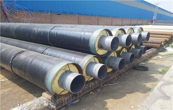 供热用内滑动钢套钢保温管加工厂家+辽源市