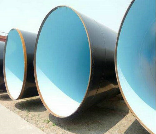 厂家送货:法兰连接涂塑钢管含运费价格桃山