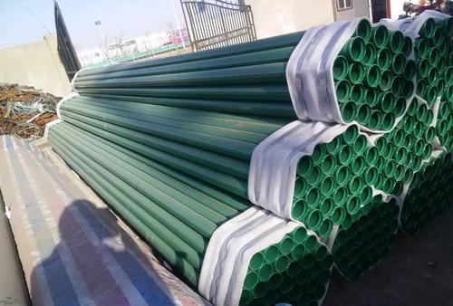 厂家定做:涂塑螺旋钢管含税价格鹤岗萝北