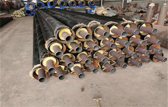 D57x3钢套钢蒸汽保温管补口方法-友浩管道
