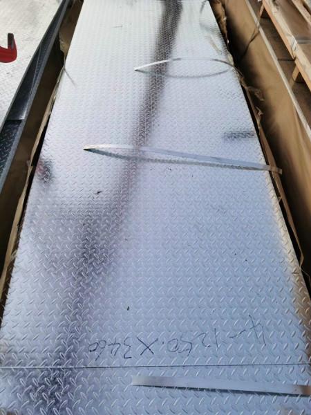 黔南州q235b热浸镀锌花纹板厂家直供