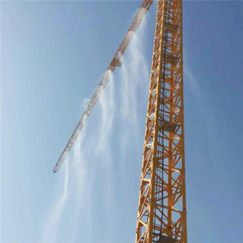 衡阳工地塔吊喷淋除尘喷淋设备