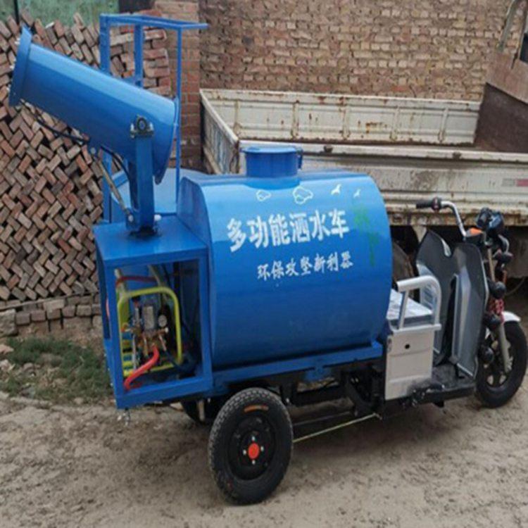广东中山消毒除尘雾炮车项目案例