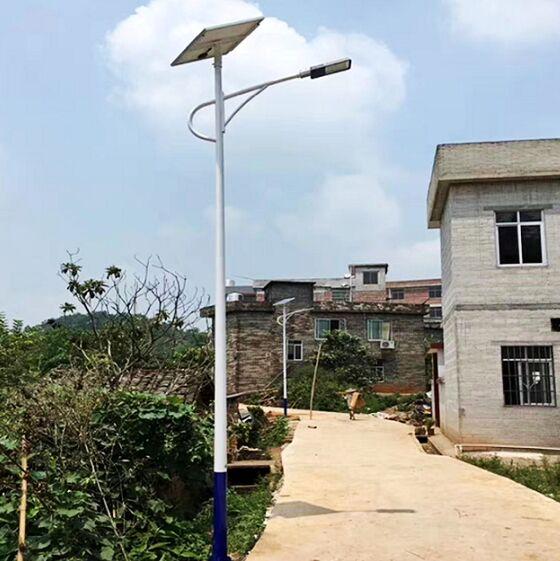 海淀区农村太阳能路灯厂家材质放心