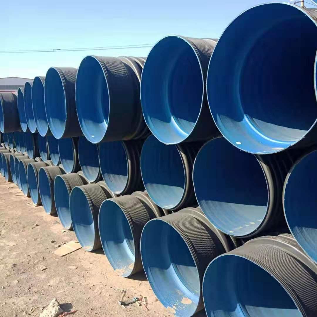 岳麓PE单壁波纹管生产厂家300波纹管价格是多少