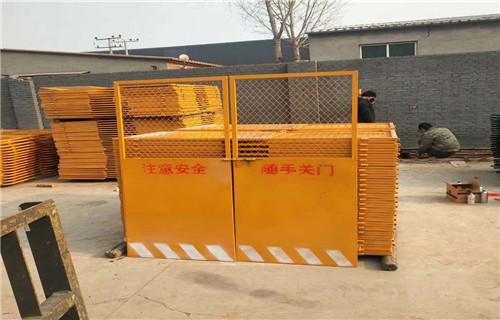 关注:河南三门峡电梯井口防护门质优价低