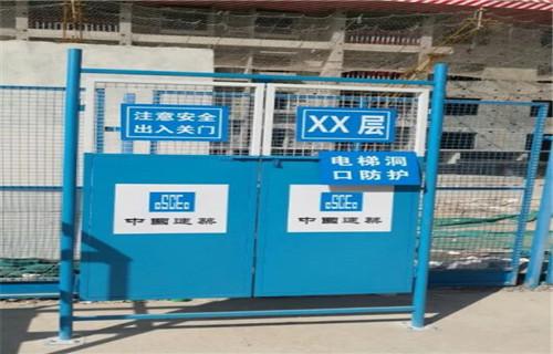 关注:山东莱芜电梯井口防护门高品质生产厂家