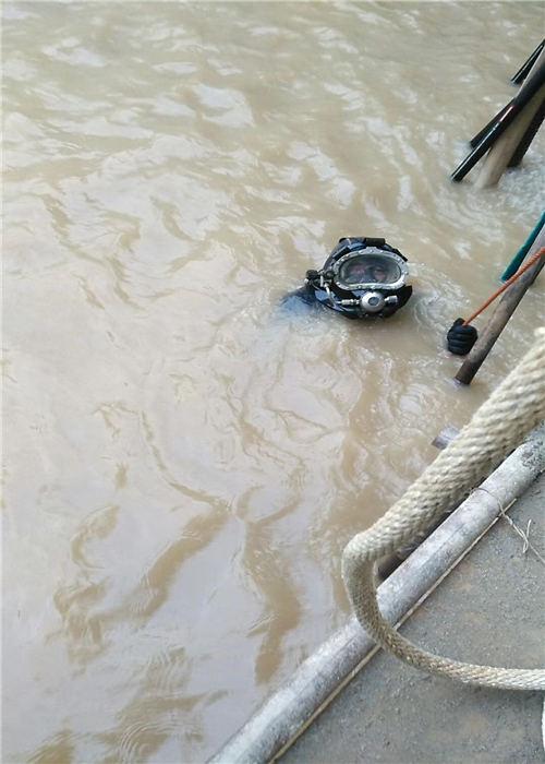 肇庆市蛙人打捞队——潜水作业显著