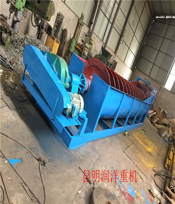 东安昆明轮式螺旋洗沙机价格-生产厂家