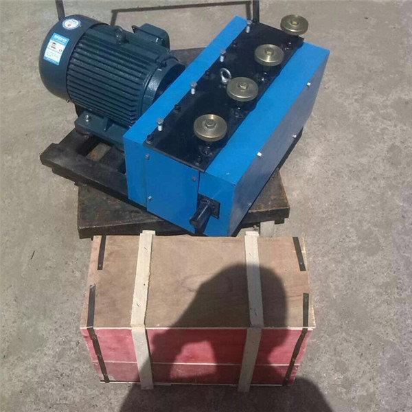 山东章丘钢绞线穿束机参数电动高压油泵高清图操作方便