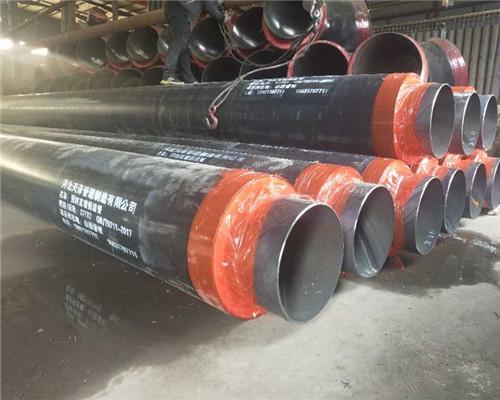 直径1000预制直埋保温钢管多少钱一根前郭尔罗斯