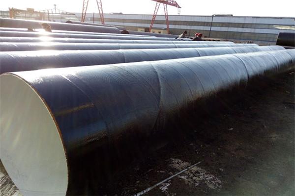 吉安安福缠绕式城市输水用三层PE防腐螺旋钢管价格优惠