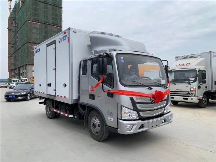 福州平潭4吨保温保温车型号冷藏车专业车间