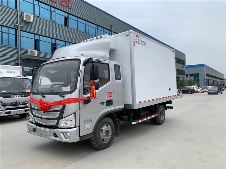 锡林浩特国五冷藏运输车本月促销价格冷藏车知名品牌