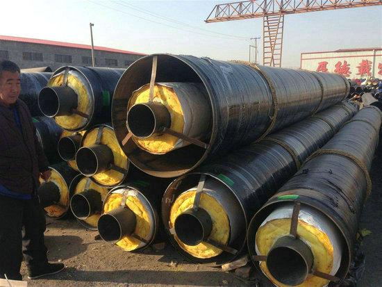 东河小区采暖聚氨酯发泡保温管大规模厂家