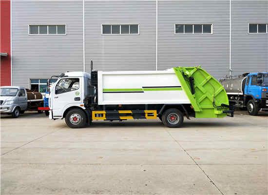 解放5吨后装压缩式生活垃圾运输车车型